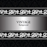 Vintage background with classic royal ornaments Stock Photo