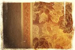 Vintage background with classy patterns Stock Photos