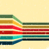 Vintage background with colored stripes. Abstract geometric pattern for cover album, brochure or flyer. Vector illustration vector illustration