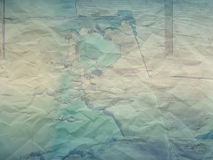Vintage Background with creased paper. And cracked effect Royalty Free Stock Photo