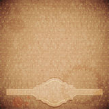 Vintage background - crumpled paper. Illustration Stock Photography