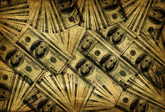 Vintage Background of Currency Royalty Free Stock Photos
