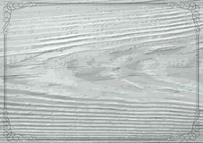 Background. Vintage background with decorative border and wooden texture Royalty Free Stock Image