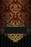 Vintage background with decorative patterns. stock images