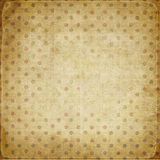 Vintage background with dots Royalty Free Stock Image