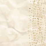 Vintage background with dots. EPS 8. Vector file included Royalty Free Stock Image