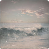 Vintage Background of dreamy wave Royalty Free Stock Photo
