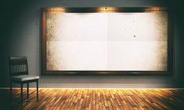 Vintage background with empty frame Royalty Free Stock Images