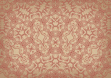 Vintage background in ethnic style Royalty Free Stock Images