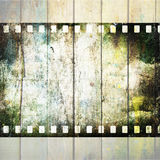 Vintage background with film Royalty Free Stock Images