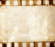 Vintage background. With film flame Royalty Free Stock Photos