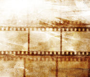 Vintage background. With film flame Stock Image