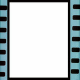 Vintage background with film flame. Blank old grunge film strip frame background. Vector format Stock Photography