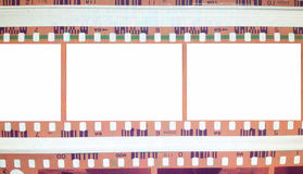 Vintage background with film flame. Blank old grunge film strip frame background. Vector format Royalty Free Stock Photos