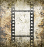 Vintage background. With film frame Royalty Free Stock Photos
