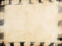 Vintage background. With film frame Royalty Free Stock Photography