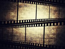 Film frame. Vintage background with film frame Stock Photo