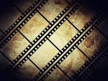 Film frame. Vintage background with film frame Royalty Free Stock Photography