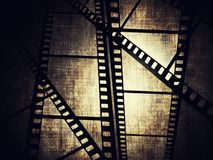 Film frame. Vintage background with film frame Royalty Free Stock Image