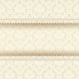 Vintage background with floral ornaments Stock Photography