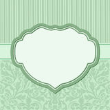 Vintage background. With floral ornaments and decorative frame Royalty Free Stock Photo