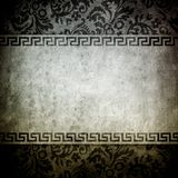 Vintage background with floral pattern Stock Photography