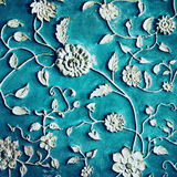 Vintage Background with Floral Pattern Royalty Free Stock Photos