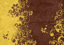Vintage background - Flower abstraction Stock Photos