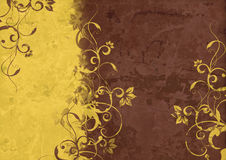 Vintage background - Flower abstraction Stock Images