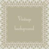 Vintage background, frame Stock Photography
