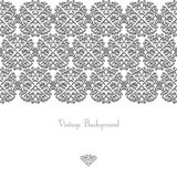 Vintage background frame design  vector victorian style Royalty Free Stock Image