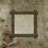 Vintage background with frame Royalty Free Stock Photos