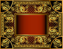 Vintage background frame with Stock Photos