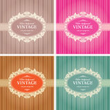 Vintage Background Frame Template Royalty Free Stock Photo
