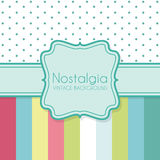 Vintage background with frame Royalty Free Stock Photography
