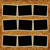 Vintage background with frames Stock Image