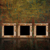 Vintage background with frames Royalty Free Stock Photography