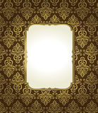 vintage background with golden elements Royalty Free Stock Photos