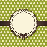 Vintage background green and brown Stock Photos