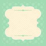 Vintage background for greeting card Stock Photography