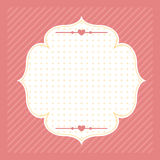 Vintage background for greeting card Royalty Free Stock Image
