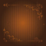 Vintage Background with Grunge Elements. Stock Images