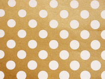 Vintage background from grunge paper, Polka dots Royalty Free Stock Photography