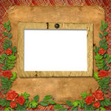 Vintage background for invitation. And photo Royalty Free Stock Image
