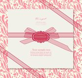 Vintage background for invitation card  Royalty Free Stock Photo