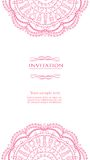 Vintage background for invitation card vector Stock Photo