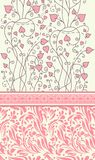 Vintage background for invitation card vector royalty free illustration