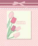 Vintage background for invitation card vector Royalty Free Stock Image