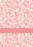 Vintage background for invitation card vector Royalty Free Stock Photos
