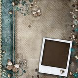 Vintage background for invitation or congratulation Royalty Free Stock Photography